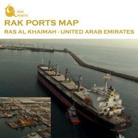 RAK Ports Map